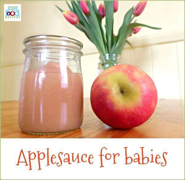 Applesauce for Babies