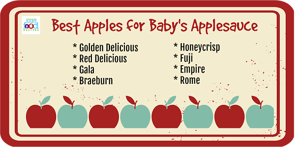 Best Apples for Baby's Applesauce