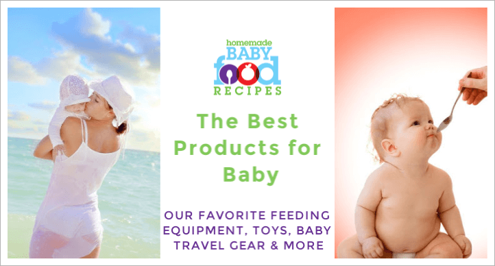 A banner for our baby food accessories page, with feeding equipment, baby travel gear and more