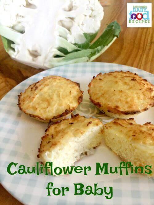 Cauliflower Muffins for Baby