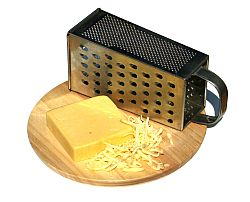 Grated cheese. Cheese is a great food for babies - find out when to add it to your baby food recipes