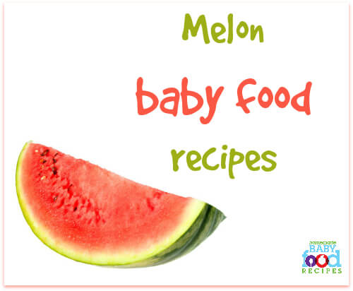 Melon baby food recipes