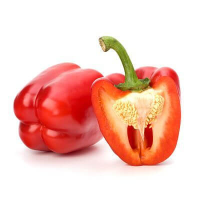 Preparing Bell Peppers for Baby