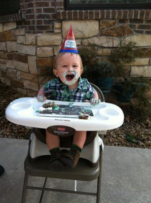 Fantastic Sugar Free Applesauce And Banana Cake For Babys First Birthday Personalised Birthday Cards Arneslily Jamesorg