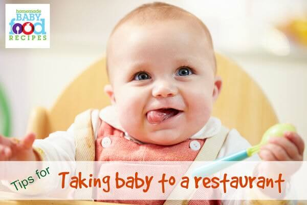 Tips for taking baby to a restaurant