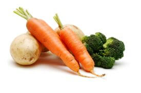 Vegetables to prepare our vegetarian baby food recipes