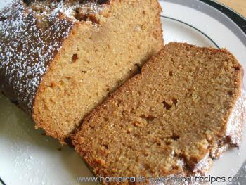 Honey Ginger Spice Cake for Baby